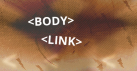 Link and body HTML elements