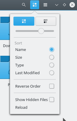 Compact view removed from Nautilus file manager UI.