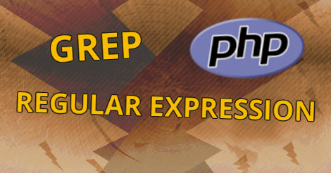 Grep Regular Expression in PHP